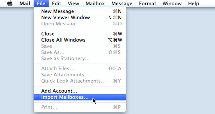 Export Emails from Zimbra to Mac Mail