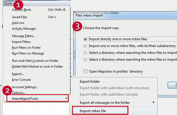 Zimbra to Thunderbird Converter—Zimbra TGZ emails to MBOX Exporter