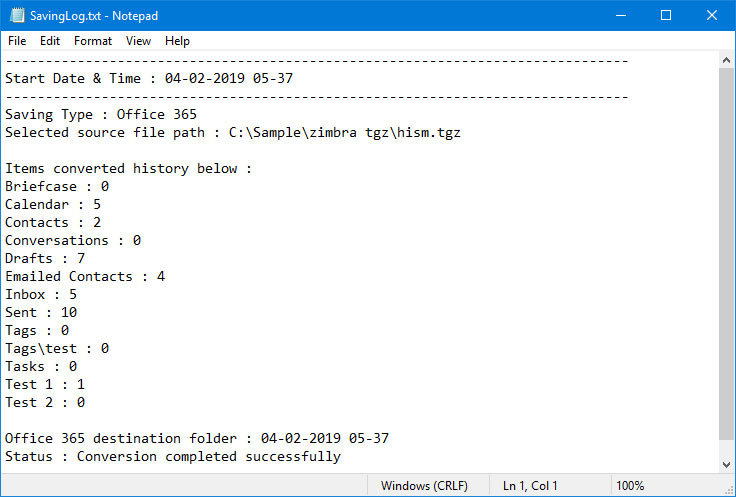 Zimbra to Office 365 Wizard – Export/Migrate Email from Zimbra to O365